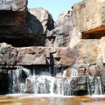 Twin Falls, top rock pool, NT, Australia