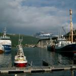 The bridge of Tromsø, Norway (North Cape motorbike tour)