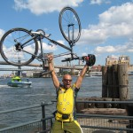 Biking NYC - Down at South Street Seaport