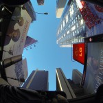 Amazing view through the roof of the Zeep! New York City Tours