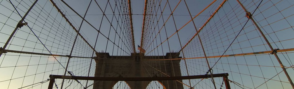 Crossing the Brooklyn Bridge is one of the highlights of a NYC biking, walking or sight running tour!