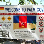 Palm Cove Sign, Australia