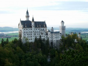 The fairytale castle Neuschwanstein