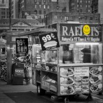 NYC hot dogs