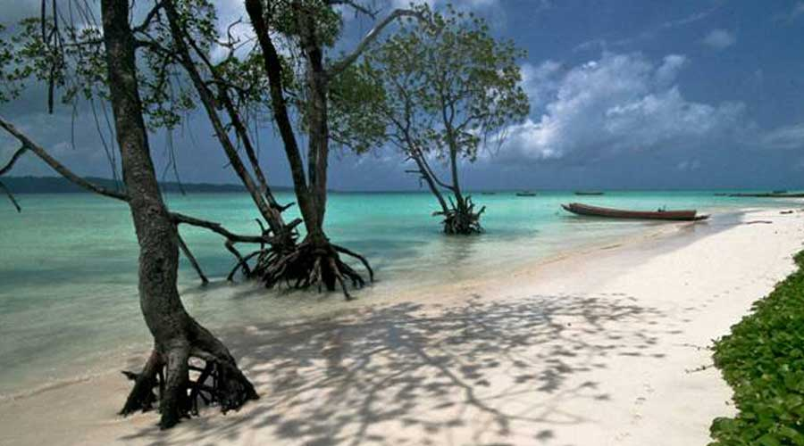 What a beautiful beach on Havelock Island