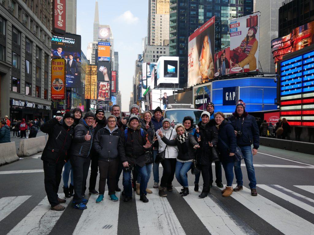 NYC Gruppen Tour mit Olidaytours