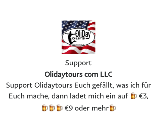 Say THANKS & Support Olidaytours with a beer ;o)