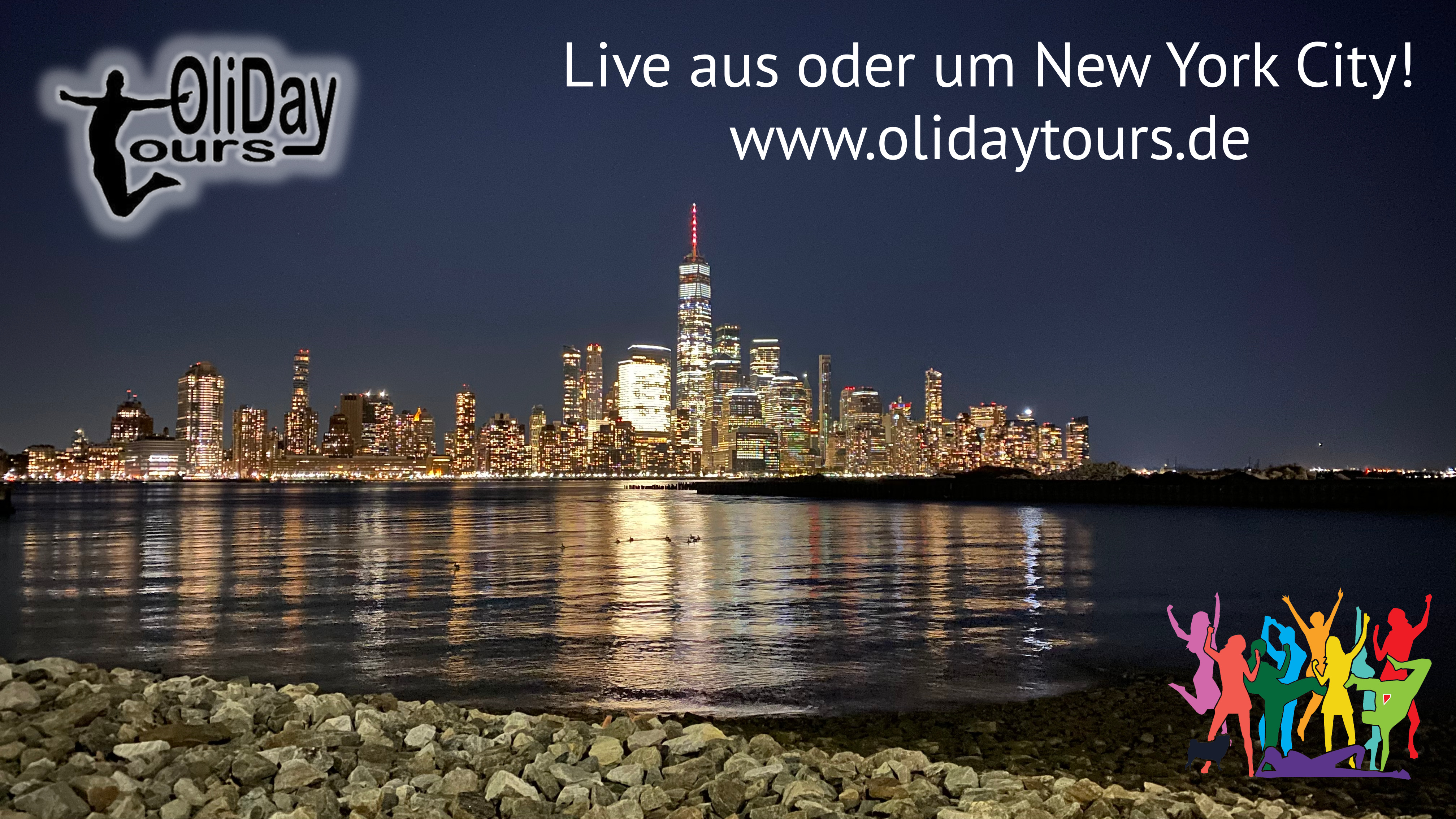 Go LIVE with OliDayTours in & around NYC and watch all OliDayTours movie with a click right here!